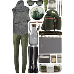 Pack It In: Green Cargo Pants