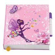 Flutterbye Flying Fairy Surprise Butterfly Diary, Pink