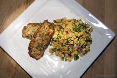 EGOSHE.dk - En madblog med South Beach opskrifter og andet godt...: Kalkunkebab med kikærtesalat