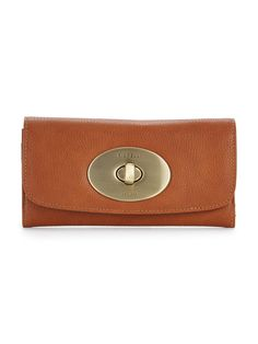 Fiorelli Dever Purse - Tan You're of-the-moment tan bag needs an of-the-moment tan purse and that's where this Dever purse by Fiorelli comes in! With pockets a-plentyfor cash coins and cards, it's a must for ladies who like to keep organised!Bags Style: PurseOpen Style: Clasp FasteningHeight 9.5cm/Width 19cm/Depth 3cm