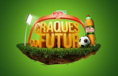 Guaraná Craques do Futuro on Behance