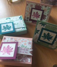 Stampin' Up! Avant Garden and Blooms and Bliss boxes and cards www.craftystamping.blogspot.com