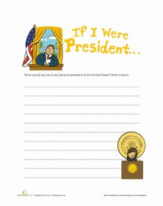 Printables Civics Worksheets poster second grade and campaign posters on pinterest presidents day civics government worksheets if i were president