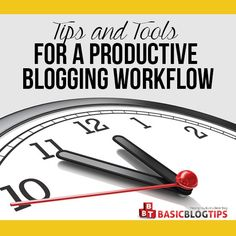 The life of a successful blogger is fast-paced and hectic! That's why I'm always looking for tools to help simplify blogging my workflow!