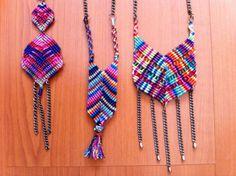 Collares de Macramé por Catalina Merino