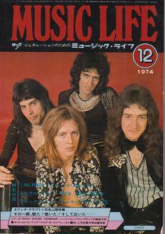 Rare Photos of Rock Stars of the and From Japanese Magazine 'Music Life' Steve Marriott, Rock & Pop, Joe Cocker, Queen Photos, Cyndi Lauper, Queen Freddie Mercury, Queen Band, John Deacon, Killer Queen