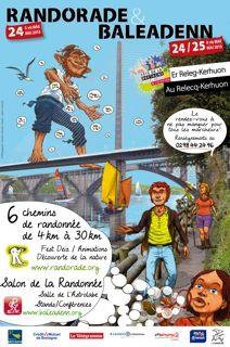 Affiche Randorade 2015 #FeteBretagne2015