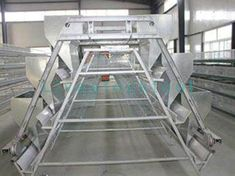 Ladder automatic feeding machine is also called feeding trolley system, which is characterized by intensive management and fully automatic electrostatic spraying process. Livestock, Cage, Ladder, Management, Chicken, Design, Stairway, Ladders