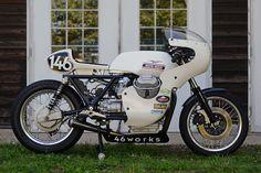 Moto Guzzi Cafe Racer by Moto Cafe, Cafe Bike, Cafe Racer Bikes, Cafe Racer Motorcycle, Cafe Racers, Motorcycle Quotes, Women Motorcycle, Motorcycle Helmets, Moto Guzzi Motorcycles