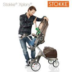 Nessun altro passeggino porta genitori e figli così vicini come Stokke Xplory