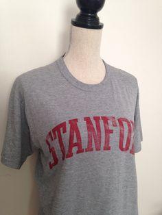 Vintage Stanford University Tshirt by 21Vintage on Etsy