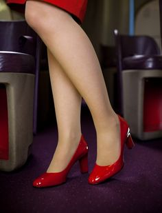 dorothy and dottie shoes - for virgin airlines stewardesses