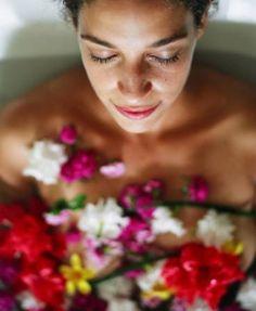 Bain d'aromes et de fleurs
