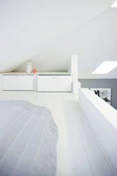 Are you a homeowner looking for a way to create an escape space for yourself in the comfort of your own home? Mezzanine Bedroom, Bedroom Loft, Loft Beds, Bedroom Inspo, Bedroom Ideas, Attic Spaces, Attic Rooms, Attic Bathroom, Attic Renovation