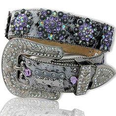 Cowgirl Bling Accessories | Rhinestone Belt L: Rhinestone belts, rhinestone jewelry, western ...