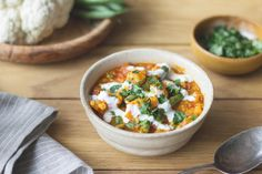 Cauliflower and Lentil Dal
