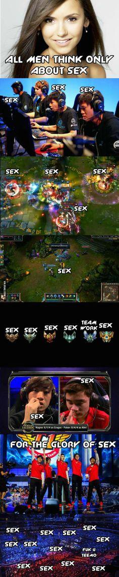 Yeah, sex