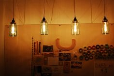 DIY jar lighting by savannah