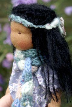 Waldorf Doll Organic waldorf doll Pocket Waldorf by tillytilda
