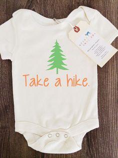 Take a Hike Baby Boy Girl Unisex Infant Toddler by shopurbanbabyco