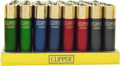 Clipper Lighters - The Original Classic Clipper Lighter - Personalized - Custom Imprinted Cigarette Lighters for Promotional Purpose - Custom Lighters - Cheap Lighters - Promotional Cigarette Lighters - Clipper Lighters Lighters