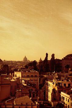 Roma - Veduta dal Palatino, by Luca Parravano