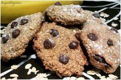 Galletas de Avena, Plátano y Chocolate - Recetas Cuisine Companion