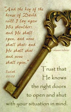 inspirational quotes ~ on open and shut doors