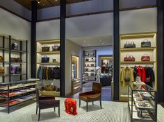 Inside Coach's newly redesigned Rodeo Drive boutique.