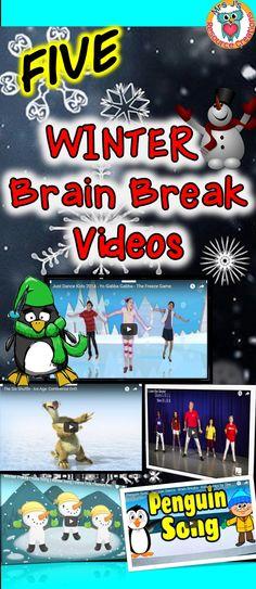 Winter Brain Breaks for the Classroom!