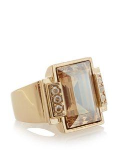 60% OFF Judith Leiber Emerald Cut Ring