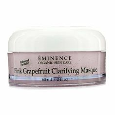 Pink Grapefruit Clarifying Masque (Normal to Oily Skin) 60ml/2oz by Eminence Organic Skin Care. $53.19. This beauty product is 100% original.. A clarifying & purifying clay mask Contains kaolin clay & grapefruit to treat blemishes & regulate excess oil Blended with Mandarin to eliminate skin impurities Loaded with Honey to deliver non-greasy moisture Plus vitamins for conditioning & botanical extracts for brightening & refreshing benefits Unveils a clear semi-m...