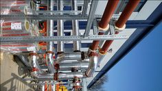 QMEXX modular pipe support system in use.