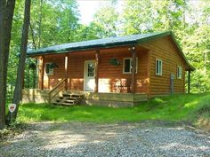 Hocking Hills Vacation Rental - VRBO 130382 - 1 BR OH Cabin, Romantic Cabin for 2