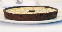 Ernst Knam ricetta torta mocaccina (frolla al cacao, crema pasticcera, ganache cioccolato e caffé solubile)