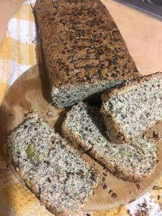 Keto Bread, Sin Gluten, No Bake Desserts, Banana Bread, Low Carb, Healthy Recipes, Healthy Food, Lunch, Snacks