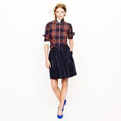Collection circle skirt