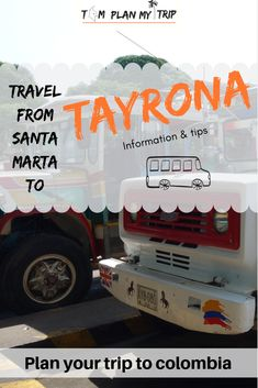 It's easy to travel from Santa Marta to Tayrona. I tell you how to save a few bucks and arrive in time to explore the Tayrona National Natural Park Trip To Colombia, Visit Colombia, Colombia Travel, Travel Articles, Travel Advice, Travel Guides, Travel Plan, Travel Tips, Tayrona National Natural Park