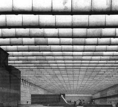 Miguel Fisac, Centro de Estudios Hidrográficos, Madrid, 1963