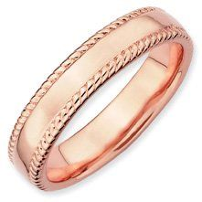 Intimate Charm Silver Stackable Pink Ring Band. Sizes 5-10 Available Jewelry Pot. $34.99. Your item will be shipped the same or next weekday!. All Genuine Diamonds, Gemstones, Materials, and Precious Metals. 100% Satisfaction Guarantee. Questions? Call 866-923-4446. Fabulous Promotions and Discounts!. 30 Day Money Back Guarantee. Save 58%!