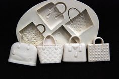 Cute purse molds that could br used for polymer clay. Sugarcraft-Fondant-Mold-Suparpaste-Mould-PolymerClay-Cake-Decorating-Tool-mini43