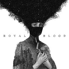 Dan Hillier's sleeve design for Royal Blood's debut album has been named as the best record cover design of 2014 in a public vote. Cool Album Covers, Music Album Covers, The White Stripes, Lps, Sang Royal, Cover Art, Lp Cover, Vinyl Cover, Lp Vinyl