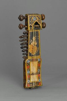 Sindhi Sarangi India (Rajastán) el Museo de Bellas Artes, Boston