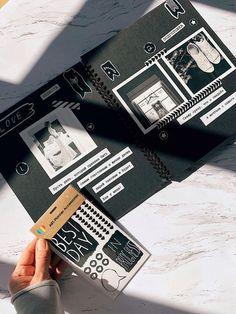 Интерактивные #ФотоАльбомы #diy побуждают создавать новые и значимые привычки. Когда вы документируете свои события в журналы, #истории  #дневник тревел бук) для «Собственных Историй». Создать и дополнить их фотокарточками, зарисовками, стикерами и подписями - очень круто. #photo #идеи #идеидляфото #дом #diycrafts #идеиподарков Scrapbook Journal, Travel Scrapbook, Diy Scrapbook, Scrapbook Supplies, Bullet Journal Mood, Bullet Journal Ideas Pages, Bullet Journal Inspiration, Birthday Gifts For Boyfriend Diy, Boyfriend Anniversary Gifts