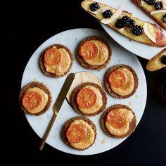Yuzu Kosho Cashew Butter Toasts Recipe  - William Werner | Food & Wine
