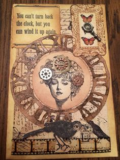 Image result for sizzix mini clock key and pocket watch steampunk craft ideas