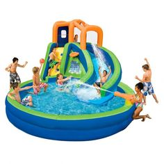 Hot Commercial Cheap Giant Inflatable Water Slide for Adult, Inflatable Pool Slide from Professional Manufacturer Inflatable Slide, Giant Inflatable, Cool Water Slides, Backyard Water Parks, Office Christmas, Pool Floats, Beach Fun, Outdoor Fun, Summer Fun