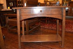 love LOVE arts and crafts style furniture
