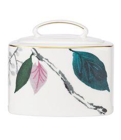 kate spade new york Birch Way Watercolor Floral Bone China Sugar Bowl with Lid #Dillards