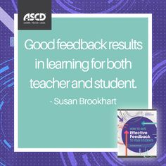How good is your feedback? Learn how to make it even better in this book.